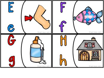 ABC Letter Puzzles (beginning sounds)