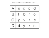 ABC Letter Recognition Activity (A-Z)