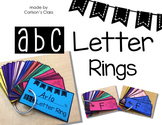 ABC Letter Rings