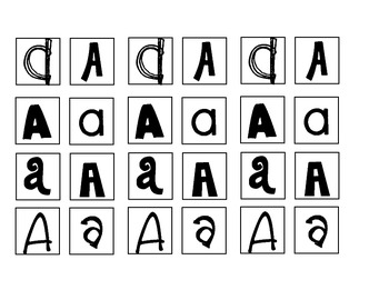 ABC Letter Sorts