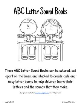 ABC Letter Sound Books