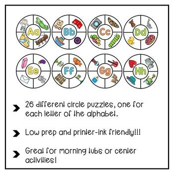 ABC Letter Sound Puzzles