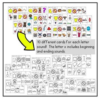 ABC Letter Sound Sort Activities
