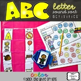 ABC Letter Sound Sort Activities
