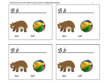 ABC Letter Sounds Practice Booklets