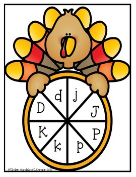 ABC Turkey Letter Spin