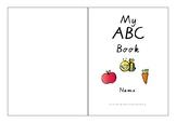 ABC Letter Trace Book (Vic Modern Cursive font)