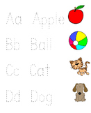 ABC Letter Trace With Pictures