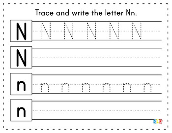 Abc Letter Tracing And Writing Worksheets By Real Life Science Tpt