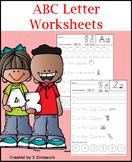 ABC Letter Worksheets