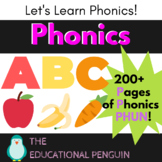 ABC Letter and Phonic Recognition Workbook