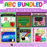 ABC Letters & Sounds Intervention Seasonal Practice Bundle