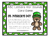 ABC Letters and Sounds Word Game - St. Patrick's Day Version