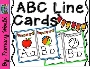 ABC Line-Classroom Display-pencil bunting design