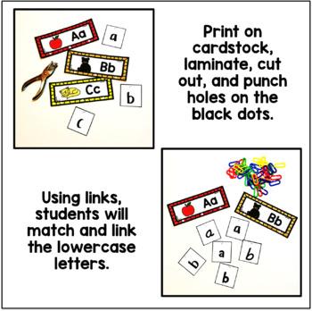 ABC Link & Learn Cards