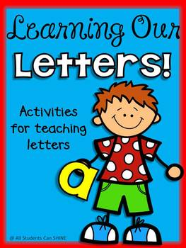 Beginning Of The Year ABC Literacy Centers - Learning Our Letters!