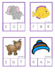 ABC Literacy Initial Sound Clip It Cards