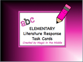 ABC Literature Response Task Cards - ELEMENTARY