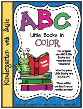 ABC Little Books Color and B&W Bundle