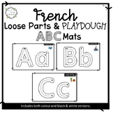 ABC Loose Parts & Playdough Mats (FRENCH)