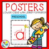 ABC Lower Case Posters PRESCHOOL