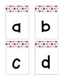 ABC Lowercase Flashcards