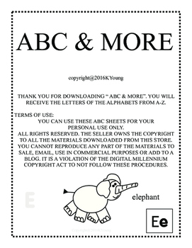 ABC & MORE