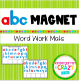 ABC Magnetic Letter & Word Work Mats