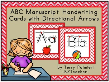 Handwriting With Directional Arrows Worksheets & Teaching