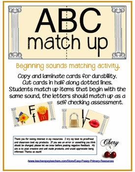 ABC Match-Up