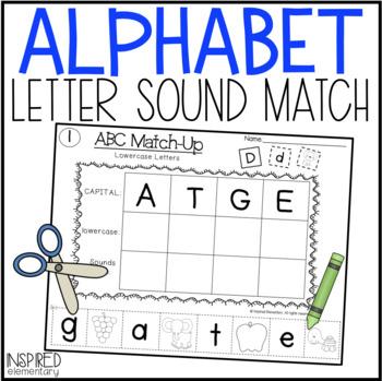 ABC Match-Up (A-Z Letter/Sound Recognition)