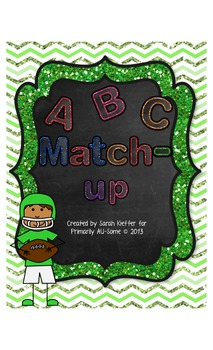 ABC Match-Up File Folder or Cut & Paste Activity