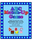 ABC Match Up Game