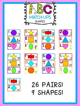 ABC Match-Ups Shapes