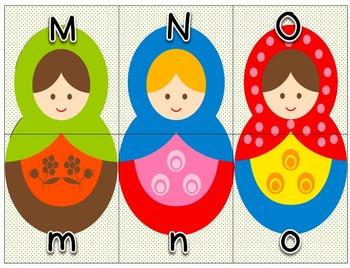 Alphabet Match-up for Pre-K and Kindergarten