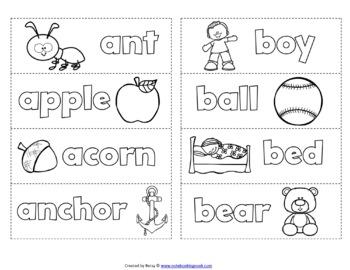 Alphabet Matchbooks Interactive Activity