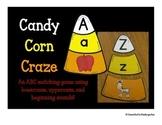 ABC Matching: Candy Corn Craze