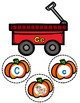 ABC Matching Center:  Fall Pumpkins Sorting Game