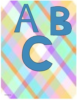 ABC Matching Game