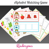 ABC Matching Game Instant Download PDF; Preschool, Kinderg