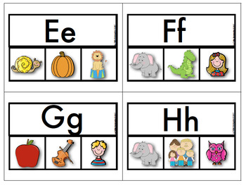 ABC Matching Game in FRENCH