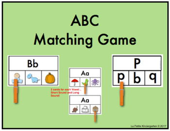 ABC Matching Games