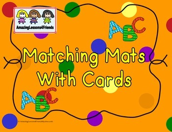 ABC Matching Mats and Cards
