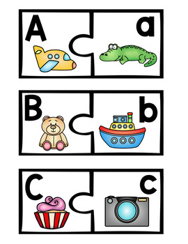 ABC Matching Puzzles