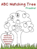 ABC Matching Tree Freebie!
