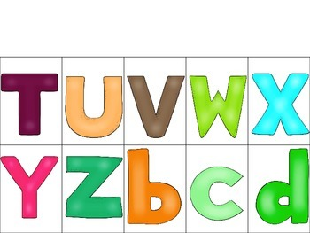 ABC Mats, ABC Puzzles, and ABC Identification Game