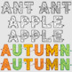ABC Maze Clipart Set, Easy Level, Transparent and White, CU and Non-CU