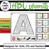 ABC - Maze (Preschool Placemats)