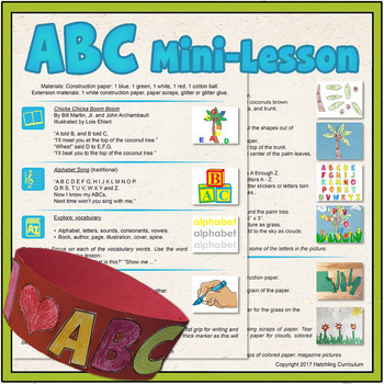 ABC & Me: Pre-Writing Mini-Lesson! {Printables}