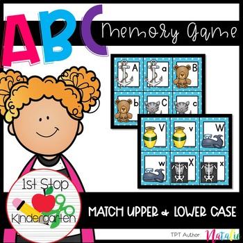 ABC Memory-Freebie